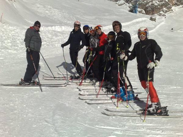 Allenamenti a Cortina d'Ampezzo stagione 2010/2011