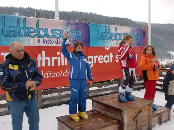 PATAVIUM VINCE con Angelica Paone a Zoldo il Trofeo Lattebusche di sci