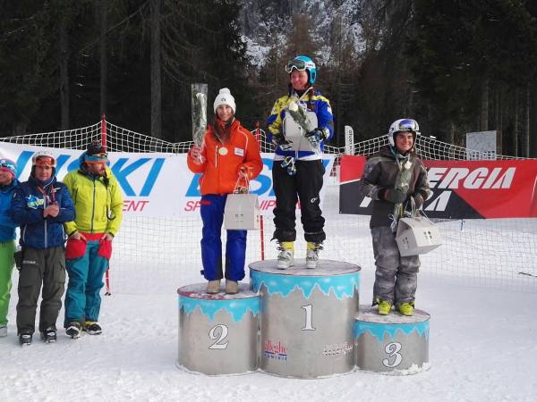 Due podi per Matilde Minotto nei Giganti FIS Njr di Alleghe