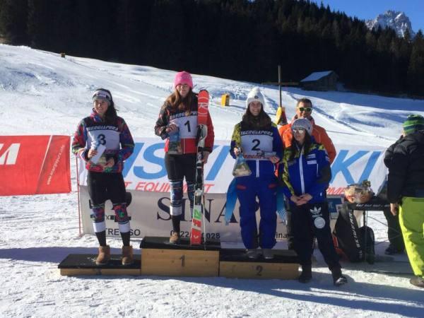 Matilde Minotto vittoriosa a Passo Monte Croce