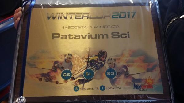 Wintercup 2017. VITTORIA!