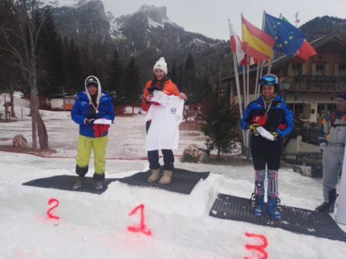 Matilde Minotto Campionessa Italiana Universitaria di Slalom Gigante